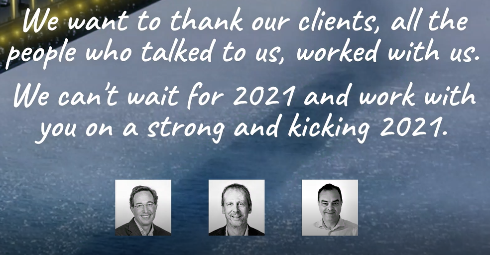 Ernest Partners wishes you a strong and kicking 2021!